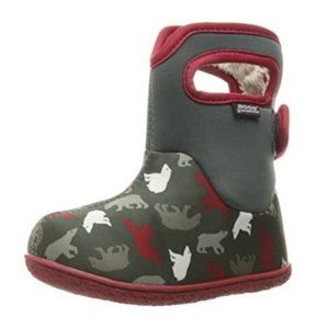 BOGS Baby Classic Polar Bear Winter Snow Boot